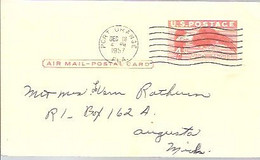 STATIONERY  1957  PORT ORANGE - 1941-60