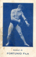 Cirque - Fortunio Fils - Hercule Tordant Le Fer - Muscles - Circus