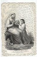 IMAGE RELIGIEUSE ET CANIVET : Qu'offront Nous A Marie. - Religion & Esotericism