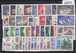 Österreich, Kpl. Jahrgänge 1956/59** (Kk 6977) - Full Years