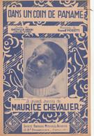 (MAURICE CHEVALIER ) Dans Un Coin De Paname , Paroles CHARLES VINCI , HENRI BATAILLE , Musique RAOUL MORETTI - Spartiti
