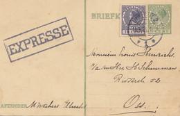 Niederlande: 1929: Express Utrecht - Ganzsache - Unclassified