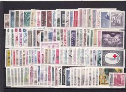Österreich, Kpl. Jahrgänge 1960/69** (Kg 6978) - Full Years