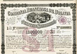 BOLIVIE. HUANCHACA DE BOLIVIA    DECO    Lot De 4 - Other