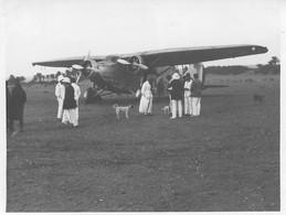 MAURITANIE ATAR  AVION BLOCH DU COMMANDANT TAVERA 11/1934 PHOTO ORIGINALE  12 X 9 CM - Plaatsen