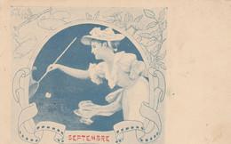 LOT DE 6CARTES    LES MOIS - 5 - 99 Postkaarten