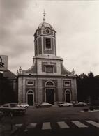 Photo Ancienne De Uccle église Saint Pierre Patrimoine Du Brabant Maison Cure Presbytère Ferme église - Places