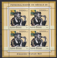 O10. Guinea Bissau MNH 2001 Personalities Of The 20th Century - Alexander Graham Bell - Unclassified