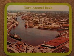 HOUSTON TURN AROUND BASIN - LARGE CARD - Commercio