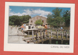 CP REGION LANGUEDOC 4 CANAL DU MIDI - Languedoc-Roussillon