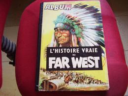 Album Chromos Images Vignettes Timbre Spirou *** Far West *** - Album & Cataloghi