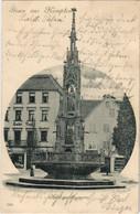 CPA AK Kempten Hildegardbrunnen GERMANY (1120585) - Kempten