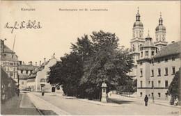 CPA AK Kempten Residenzplatz M. St Lorenzkirche GERMANY (1120682) - Kempten