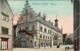 CPA AK Kempten Rathaus GERMANY (1120772) - Kempten