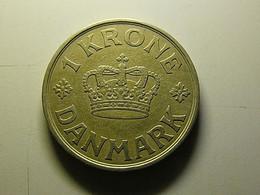 Denmark 1 Krone 1938 - Dinamarca