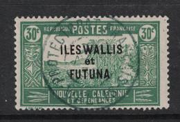 Wallis Et Futuna - Yvert 51 Oblitéré WALLIS  - Scott#52 - Used Stamps