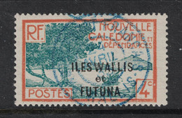 Wallis Et Futuna - Yvert 45 Oblitéré WALLIS  En  BLEU - Scott#46 - Used Stamps
