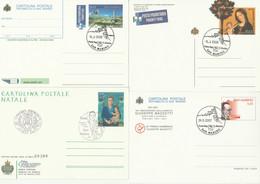 4 INTERI POSTALI SAN MARINO FDC (MX628 - Postal Stationery