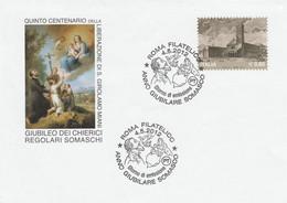 INTERO FDC ITALIA 2012 GIUBILEO DEI CHIEIRICI (MX630A - Stamped Stationery