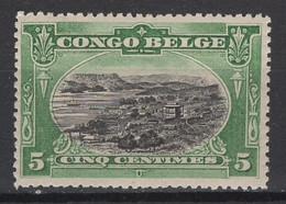 1909: Congo Belge. COB 2020 N° 50 **, MNH.  Cote COB 2020 : 5 € - 1894-1923 Mols: Neufs