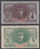Mauritanie 1906-1912 - N° 03 & 4 (YT) N° 3 & 4 (AM) Neufs *. - Ungebraucht