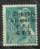 LIBERATION  De  GEX N° 1 - Liberazione