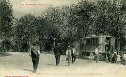 MONT LOUIS   = Départ De L'omnibus à Vapeur     2379 - Other Municipalities