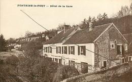 23* FONTAINE LE PORT  Hotel De La Gare    MA77-0593 - Non Classificati