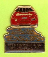Pin's Boisson Pepsi Firecracker 400 Daytona Automobile Ford Thunderbird Pilote De Course Bill Elliott  - 2Y04 - Ford