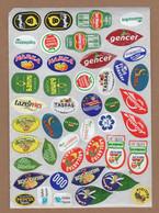 AC - FRUIT LABELS Fruit Label - STICKERS LOT #54 - Frutas Y Legumbres