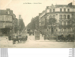 WW 72 LE MANS. Hôtel De Paris Avenue Thiers Impeccable Et Vierge... - Le Mans