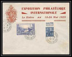 4394 France Lettre Illustree N°257 Jeanne D'arc Bande De Pub Exposition Philatelique Le Havre 31/5/1929 - Cartas