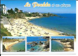 Le POULDU - Carte Multivues - N°10189 YCA Caoudal éd. - Le Pouldu