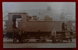 CPA Photo Train - Locomotive / Walcourt - Walcourt