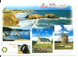 Le POULDU - Carte Multivues - N°10188 YCA Caoudal éd. - Le Pouldu