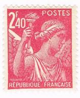France, N° 654 - Type Iris - Unused Stamps