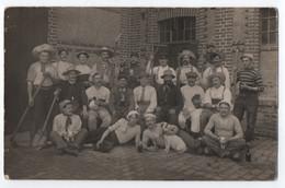 CARTE PHOTO : DOEBERITZ - PRISONNIERS DE GUERRE 1914 - 1918 ( THEATRE ) - KRIEGSGEFANGENEN SENDUNG - FREIGEGEBEN - R/V - - Dallgow-Doeberitz