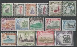 Colonies Anglaises- RHODESIE Et NYASALAND - Série N° 19 à 32 ** - Rhodesia & Nyasaland (1954-1963)