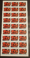 ANGOLA FLOWERS LOT 5 SHEETS IMPERFORED MNH. - Otros