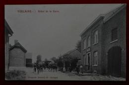 CPA 1908 Verlaine - Hôtel De La Gare - Attelage - Verlaine