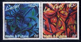 WF - 742/743** - L'EAU ET LE FEU - Unused Stamps
