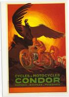 Condor  -  Cycles Et Motocycles-  Publicité D'epoque 1926   - CPM - Cycling