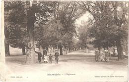 Dépt 48 - MARVEJOLS - L'Esplanade - (cliché Lafargue - Édition Spéciale Du Bazar Marvejolais) - Marvejols