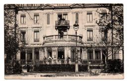 Besançon - Terrasse De L'Hotel Des Bains  - CPA°W - Besancon