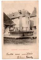 Champagne En Valromey - Fontaine Brillat Savarin   - CPA°W - Autres Communes