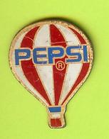Pin's Boisson Pepsi Montgolfière - 2Y16 - Mongolfiere