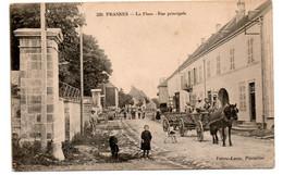 Frasnes - La Place - Rue Principale  - CPA°W - Andere Gemeenten