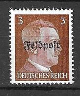 Allemagne/Reich Timbre Feldpost Michel N° 17 Neuf ** MNH. Signé.  A Saisir! - Occupation 1938-45