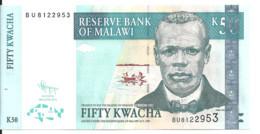 MALAWI 50 KWACHA 2011 UNC P 53 E - Malawi
