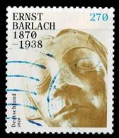 Bund 2020,Michel# 3521 O 150. Geburtstag Von Ernst Barlach Selbstklebend - Gebruikt